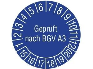 Wiederholungsprüfung nach BGV A3 für handgeführte Elektrogeräte