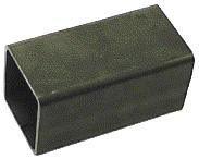 Quadrat & Rechteckrohr E235 S1 schwarz