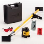 STABILA Multilinien-Laser LAX 400, 6-teiliges Set inkl. REC220