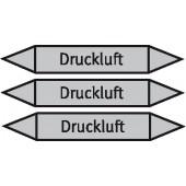 Mini-Rohrmarkierer Druckluft Aufkleber (Bogen=5 Stk)