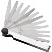 Fühlerlehre | Blattstärke 0,05-1,0 mm Stahl Länge 100 mm Blattanzahl 20 St.