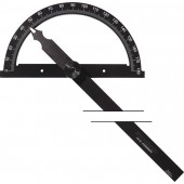 Winkelmesser | Gradbogen-Ø 120mm Schenkellänge 150mm