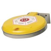 Abfallsammler | f.Wandbefestigung Deckel Ku. f.120l Säcke gelb