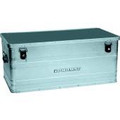 Aluminiumbox 140 l | L900xB490xH380mm mit Klappverschlüssen und Schlösser PROMAT