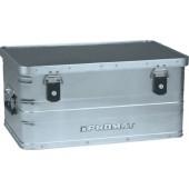 Aluminiumbox 47l | L580xB380xH275mm mit Klappverschlüssen und Schlösser PROMAT