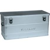 Aluminiumbox 90l | L780xB380xH380mm mit Klappverschlüssen und Schlösser PROMAT