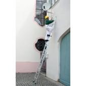 Anlegeleiter | Aluminium 14 Sprossen Leiterlänge 4170 mm Arbeitshöhe bis ca.5300mm