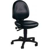 Arbeitsdrehstuhl m.Rollen | Kunstleder Sitzhöhe 420-550mm Topstar Kontaktrückenlehne