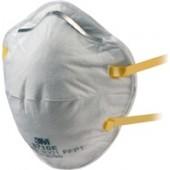 Atemschutzmaske 8710SV   FFP1NRD b.4xAGW-Wert 3M EN149:2001+A1 2009 o. Ausatemventil
