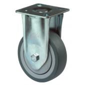 Bockrolle | D.200mm Tragkraft 1000kg Kunststoffrad Platte 135x110mm