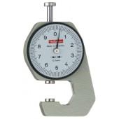 Dickenmessgerät | K15 10mm Ablesung 0,1mm plan 6,35mm m.Werkskalibrierung