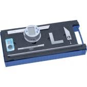 Digitalwinkelmesser | Schienen-L.150/300mm Ablesung 0,008Grad 30 Winkelmin.
