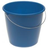 Eimer 5l m.Maßeinteilung | farbig sortiert Mischplastik Metall-Bügel