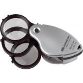 Einschlaglupe | Tech-Line Vergrößerung 8x 2 Einzellinsen Linsen-D.38mm