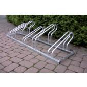 Fahrradbügelparker 5er | verz. 90 Grad Hoch-/Tiefstellung L.1750 mm 1-seitig