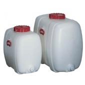 Fass 60l weiß PE | L555xB350xH500mm a.PE Einfüllöffnung-D.200mm
