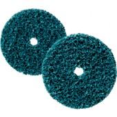 Grobreinigungsscheibe | D.100xH.13mm blau CG-DC 3M