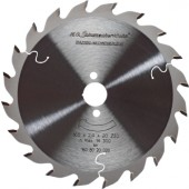 Kreissägeblatt HM FF | 28Z. D.400mm B.3,8mm PROMAT Bohrung 30mm nagelfest
