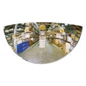 Heck-Gabelstaplerspiegel | B.258xT.39xH.128mm m.Halterung ca.180Grad Blickwinkel f.Gabelstapler hinten