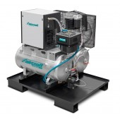 Kolbenkompressor   DUO Airprofi 703 / 2 x 75 / 13KK stationär vertikaler