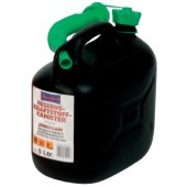 Kraftstoffkanister | B. 147mm H. 247mm Inhalt 5l L. 265mm schwarz
