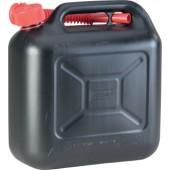Kraftstoffkanister | Transportkanister B164xH324mm Inhalt 10l Länge 333mm schwarz