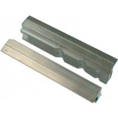 Leichtmetall-Schraubstock | m.Prismen f.B.100mm LM Haarhaus 1Paar m.Magnet-Halterung