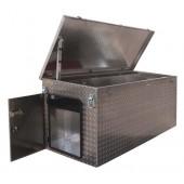 Alu-Box | B5000 mit Türe links, Ablage L Kranösen