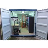 Container und Boxen pro Baustelle