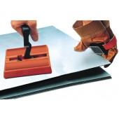Permanenthandmagnet | L.160xB.150xH.25mm m.Exzenter am D-Griff Haftkraft 1400N