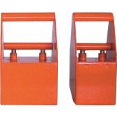 Permanentmagnet | Haftfläche 80mm/80mm schaltbar Gesamt-H.190mm