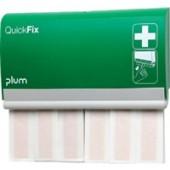 Pflasterspender | QuickFix B233xH.133xT.30mm PLUM m.Schlüssel Fingerverbände