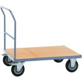 Plattformwagen Ladefläche | L1000xB700mm Trgf.500kg PROMAT Vollgummiräder