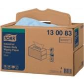 Putztuch Tork | blau 3lagig L.325xB.385mm 200St./Krt. 1Krt./VE