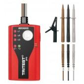 Drehfeldrichtungsanzeiger | 300 - 500 Volt AC LED Leuchte Gürtelclip TRITEST pro