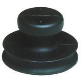 Saugheber b.15kg | Kopf-D.80mm Gummi