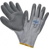 Schnittschutzhandschuhe | G.9 grau m.PU-Beschichtung EN388 Schnittschutzlevel 5