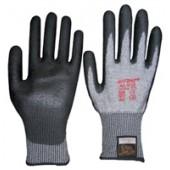 Schnittschutzhandschuhe | Gr.9 grau m.PU-Beschichtung EN388 Schnittschutzlevel 5