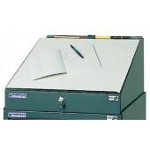 Schreibpultaufsatz | B.500xT.500mm f.Werkzeugschrank anthrazitgrau PROMAT