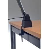 Schreibtischlampe Ku. | anthrazit/schwarz m.Standfuß m.Leuchtmittel