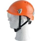 Schutzhelm orange | Montana Roto EN397 Drehradsystem 6 Punkt-Textilbebänderung seitl.Schlitze