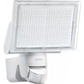 Sensor LED-Strahler | 330 LEDs 18 W 1426 Lumen m. Bewegungsmelder Gehäuse weiß