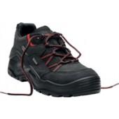 Sicherheitsschuh Gr. 47 | Boreas Work GTX Lo S3 Nr. 5338, Nubukleder Cordura, Gore-Tex schwarz, Stahlsohle