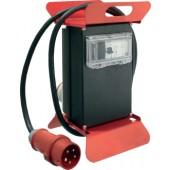 Standstromverteiler 16A | 400V 5polig H07RN-F5 G 2,5mm2 z.Verwendung i.Innen-/Außenbereich IP44