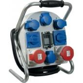 Standstromverteiler 32A | 400V 5polig H07RN-F5 G 4mm2 z.Verwendung i.Innen-/Außenbereich IP44