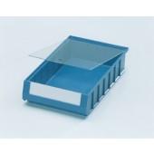 Staubdeckel PS glasklar | Regalkastenmaß L300xB117 10 St./Beutel