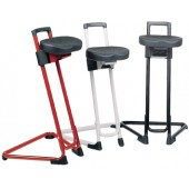 Stehhilfe Gestell schwarz | Integralschaum Sitzhöhe 600-850mm