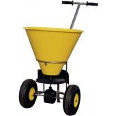Streugutwagen 35l | Streubreite 1-4m Ku.-Behälter gelb luftbereift Cemo m.Streumengenregler