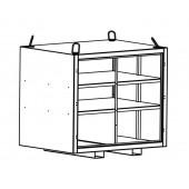 Alu-Transportbox | 160 x 120 x 145 cm