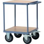 Tischwagen 2 Ladeflächen | Trgf. 400kg  L600xB600mm PROMAT Etagen-H.228/860mm